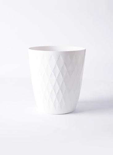 鉢カバー  RIchell (リッチェル) キンバリー 5号鉢用 ホワイト