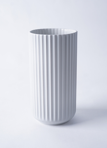Lyngby Vase(リュンビューベース) H20cm ライトグレー