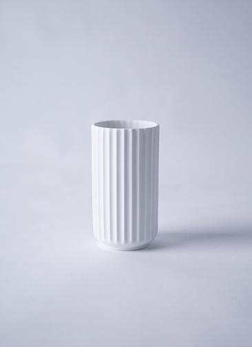 Lyngby Vase(リュンビューベース) H12cm マットホワイト