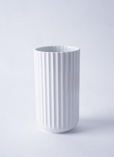 Lyngby Vase(リュンビューベース) H15cm マットホワイト #Lyngby Porcelæn 200834