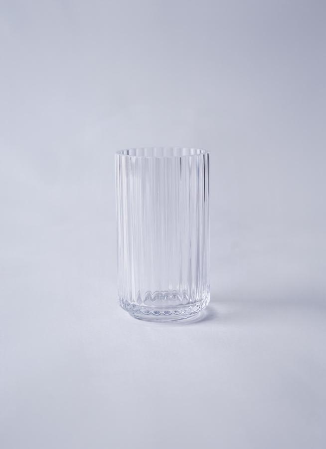 Lyngby Vase(リュンビューベース) Glass H12cm クリア