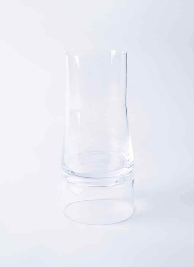 JC Vase 2in1 (ジョエコロンボベース ツーインワン) Lサイズ クリア/クリア