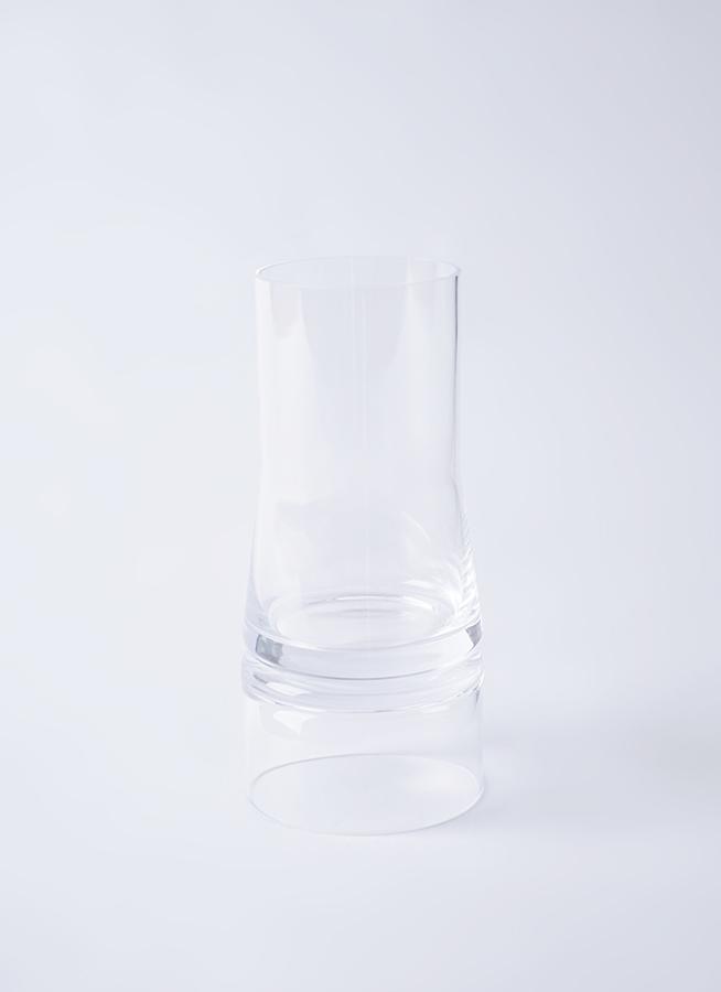 JC Vase 2in1 (ジョエコロンボベース ツーインワン) Sサイズ クリア/クリア