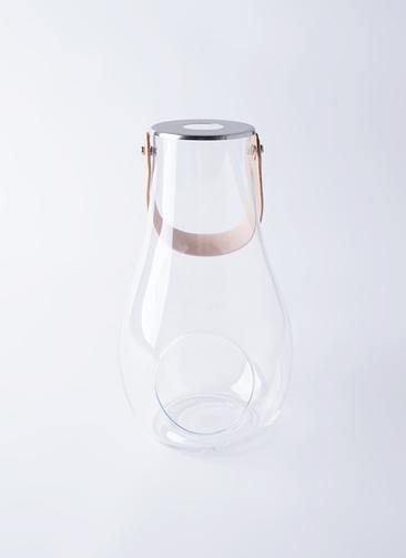 DESIGN WITH LIGHT (デザイン ウィズ ライト) LANTERN(ランタン) H29cm クリア