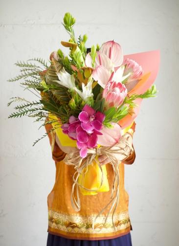 南国系 花束 ミックス M スタンダード