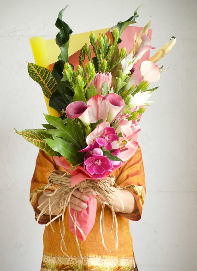 南国系 花束 ミックス L スタンダード