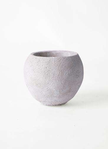 鉢カバー  セメントボール S ホワイト #ASHGREY 108-013