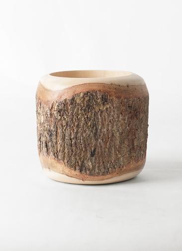 鉢カバー  Mango Wood(マンゴーウッド) 4号鉢用