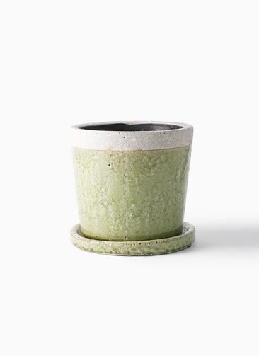 鉢カバー  クレーパ 5号鉢用 グリーン