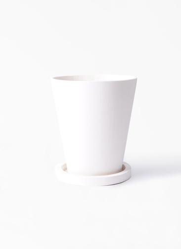 鉢カバー  パウダーストーン 8号鉢用 白