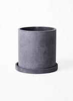 鉢カバー  パウダーストーンポット 3号鉢用 gray