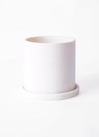 鉢カバー  パウダーストーンポット 3号鉢用 white #stem P8102