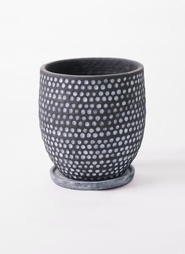 鉢カバー  ハイブミドル 6号鉢用  ブラック