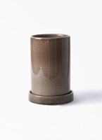 鉢カバー  カームシリンダー 4号鉢用 Gray