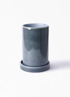 鉢カバー  カームシリンダー 4号鉢用 Blue