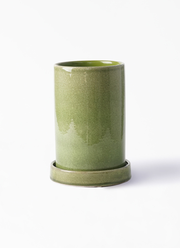 鉢カバー  カームシリンダー 4号鉢用 Green