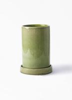 鉢カバー  カームシリンダー 4号鉢用 Green #GREENPOT HO-702-1GN