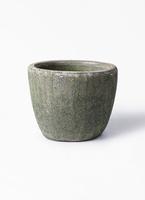 鉢カバー  アビスソニアミドル 6号鉢用 緑