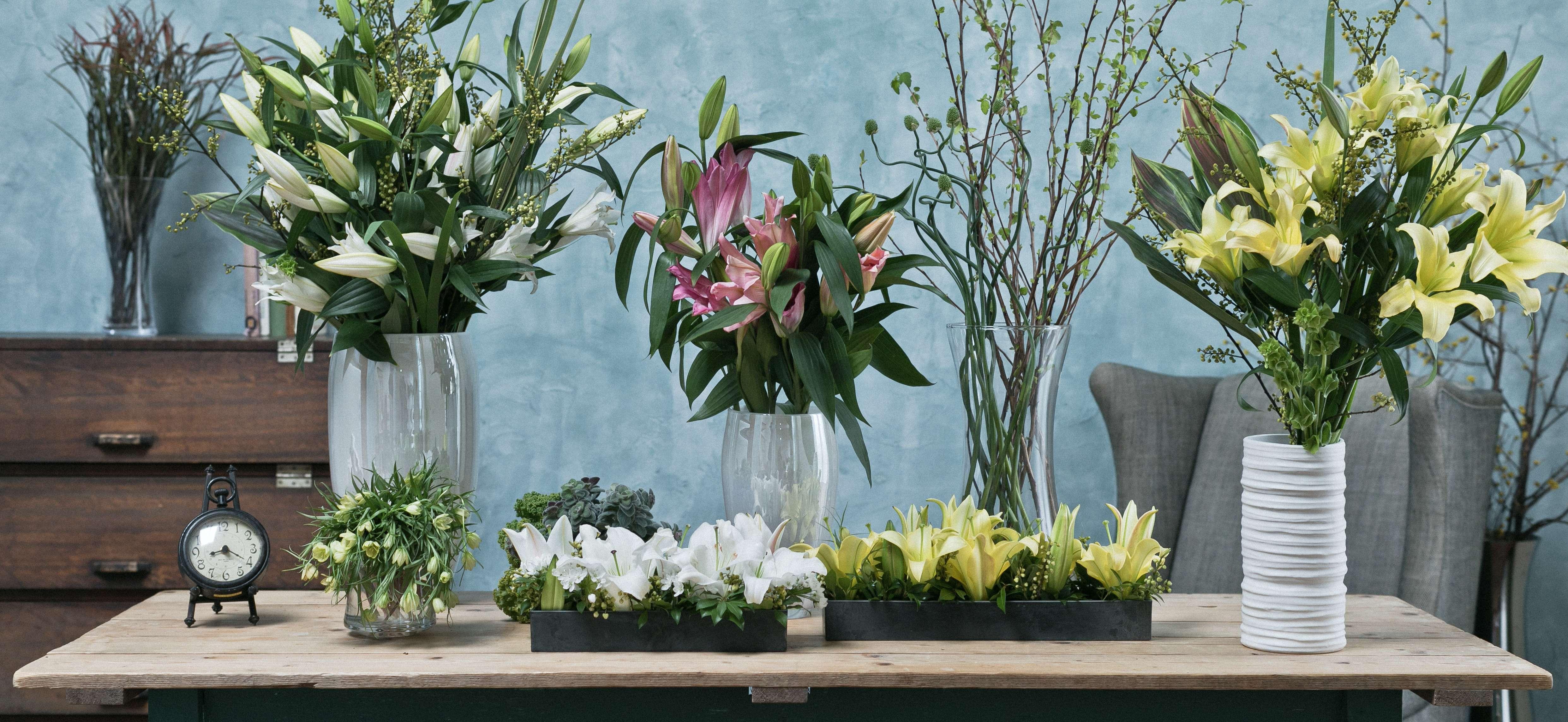 ユリ - お花と植物のギフト通販 HitoHana(ひとはな)
