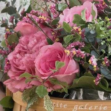 バラ アレンジメント ピンク
