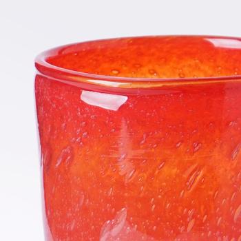 花瓶・フラワーベース 赤色