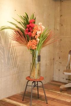 生け込みのお祝い花