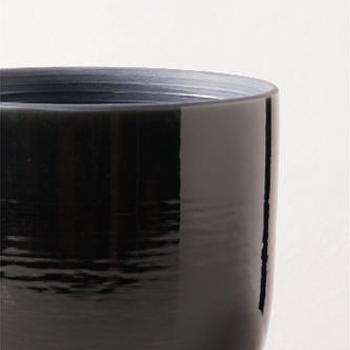 花瓶・フラワーベース 黒