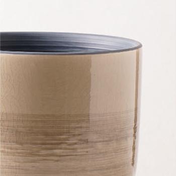花瓶・フラワーベース 茶色