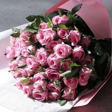 バラ 花束 ピンク
